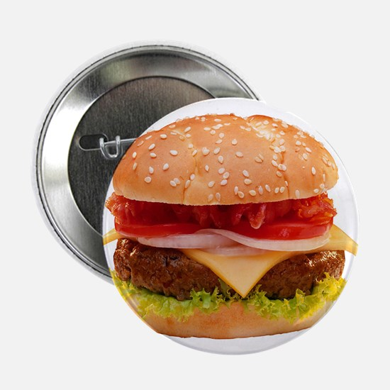"yummy cheeseburger photo 2.25"" Button"