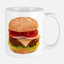 yummy cheeseburger photo Mug