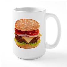 yummy cheeseburger photo Mug