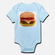 yummy cheeseburger photo Infant Bodysuit
