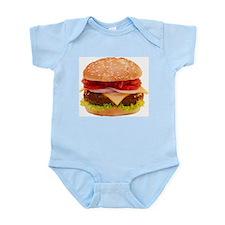 yummy cheeseburger photo Onesie