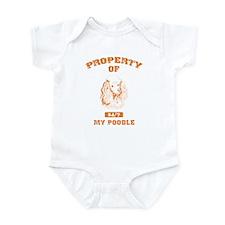 Poodle Infant Bodysuit