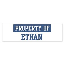 Property of ETHAN Bumper Car Sticker