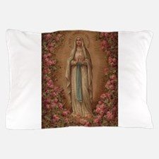 Our Lady Of Lourdes Pillow Case
