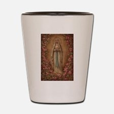Our Lady Of Lourdes Shot Glass