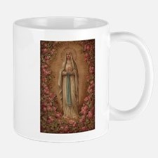 Our Lady Of Lourdes Mugs
