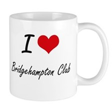I love Bridgehampton Club New York artistic Mugs