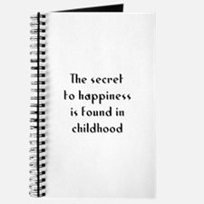 The secret to happiness is fo Journal