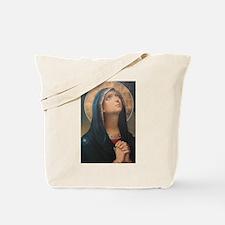 Praying Virgin Tote Bag