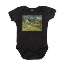 Cute Cottages Baby Bodysuit