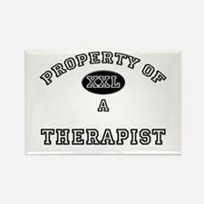 Property of a Therapist Rectangle Magnet