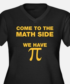 Come to the math side, we have PI Plus Size T-Shir