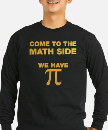 Come to the math side, we have PI Long Sleeve T-Sh