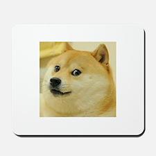 Dogecoin Doge Mousepad