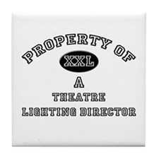 Property of a Theatre Lighting Director Tile Coast