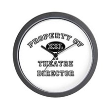 Property of a Theatre Director Wall Clock