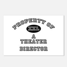 Property of a Theater Director Postcards (Package