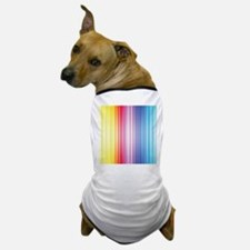 Color Line Dog T-Shirt