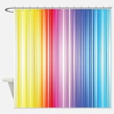 Color Line Shower Curtain