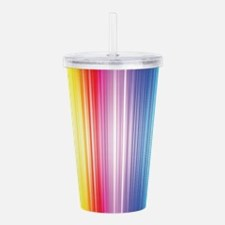 Color Line Acrylic Double-wall Tumbler