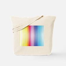 Color Line Tote Bag
