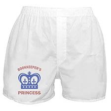 Bookkeeper Princess Boxer Shorts