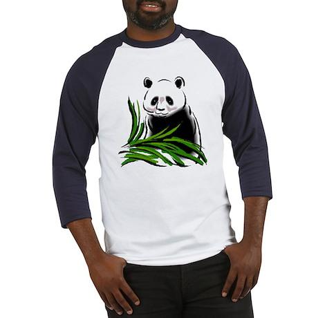 Hand Painted Panda Baseball Jersey