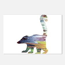 Coati Postcards (Package of 8)