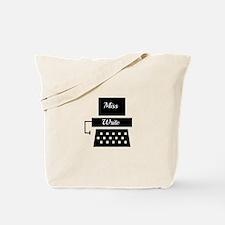 Miss Write Tote Bag