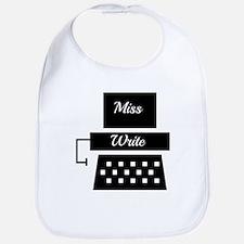 Miss Write Bib