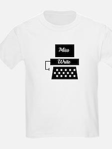 Miss Write T-Shirt