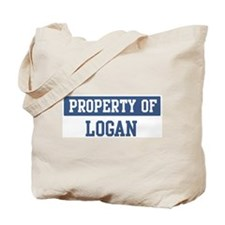 Property of LOGAN Tote Bag
