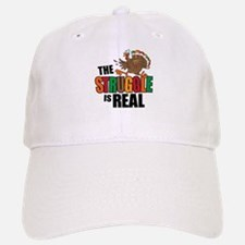 Turkey Struggle Baseball Baseball Cap