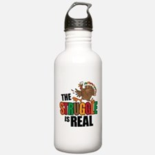 Turkey Struggle Water Bottle