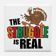 Turkey Struggle Tile Coaster