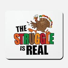 Turkey Struggle Mousepad