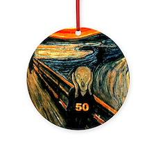 Scream 50th Ornament (Round)