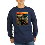 Scream 50th Long Sleeve Dark T-Shirt