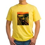 Scream 50th Yellow T-Shirt