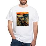 Scream 50th White T-Shirt