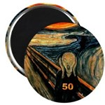 Scream 50th Magnet