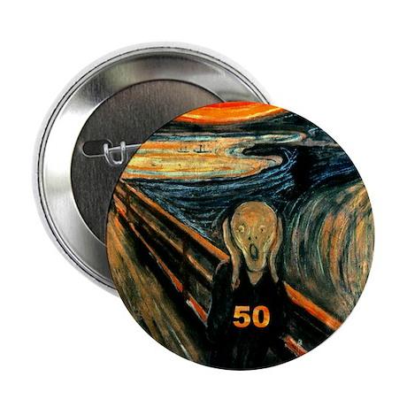 "Scream 50th 2.25"" Button (100 pack)"