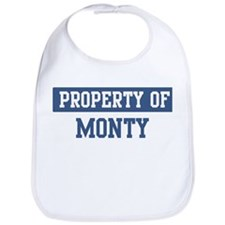 Property of MONTY Bib