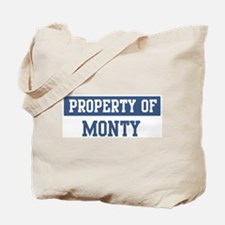 Property of MONTY Tote Bag