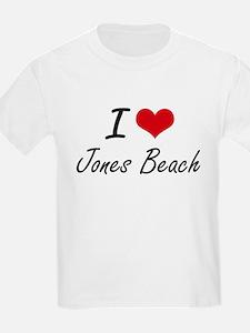 I love Jones Beach New York artistic desi T-Shirt