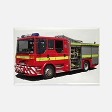 Ajay Fire Engine Rectangle Magnet