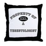 Property of a Tegestologist Throw Pillow