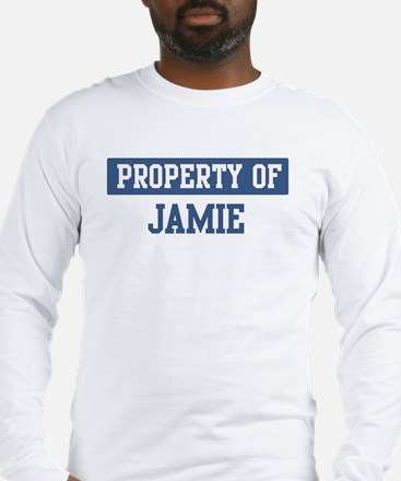 Property of JAMIE Long Sleeve T-Shirt