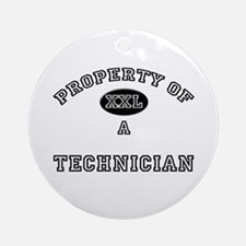 Property of a Technician Ornament (Round)