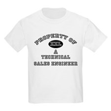 Property of a Technical Sales Engineer T-Shirt